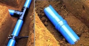 монтаж водоснабжения и канализации в Тюмени - трубопровод