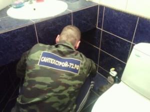 Замена труб Тюмень в квартире: в ванной, в туалете, на кухне
